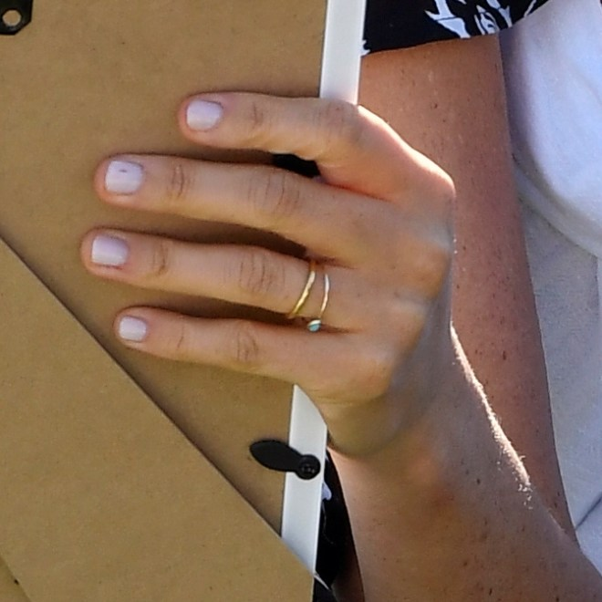 Meghan Markle is not wearing her engagement ring