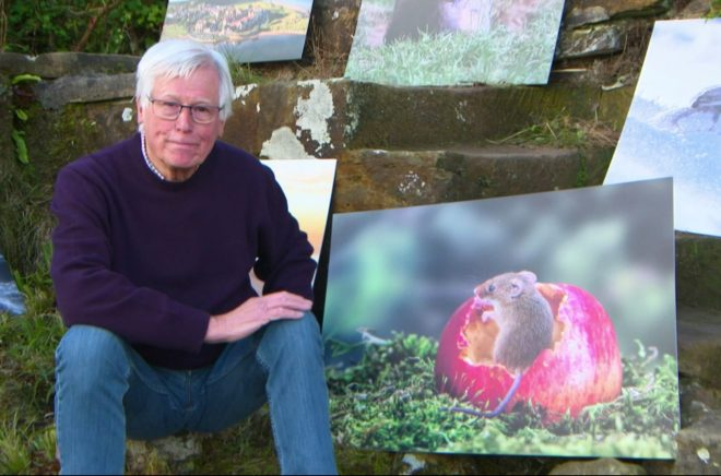 Presenter John Craven admitted the a studio had been used so the photographer could get up close
