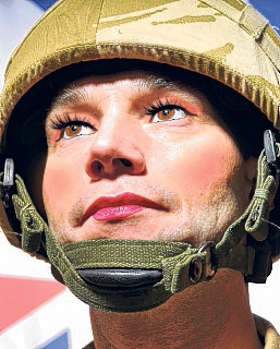 Army chiefs are considering allowing male soldiers to wear make-up