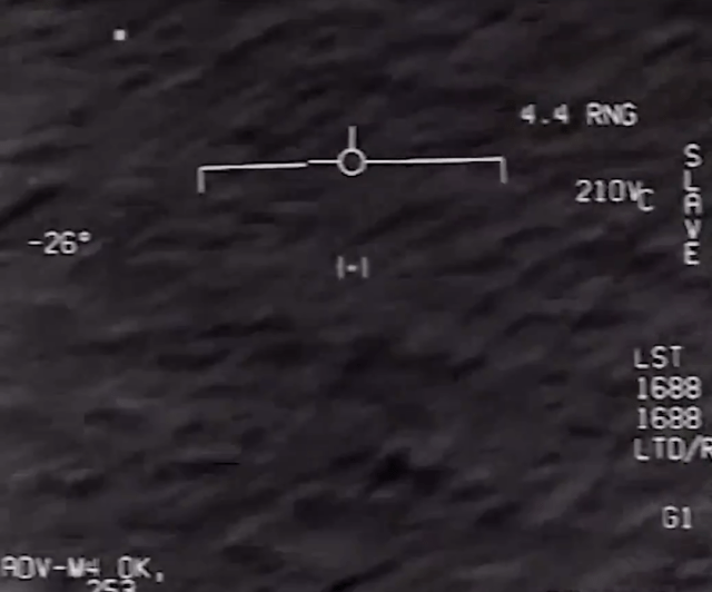A second Florida video shows a smaller dot-like UFO flying along as it's tracked by the airmen