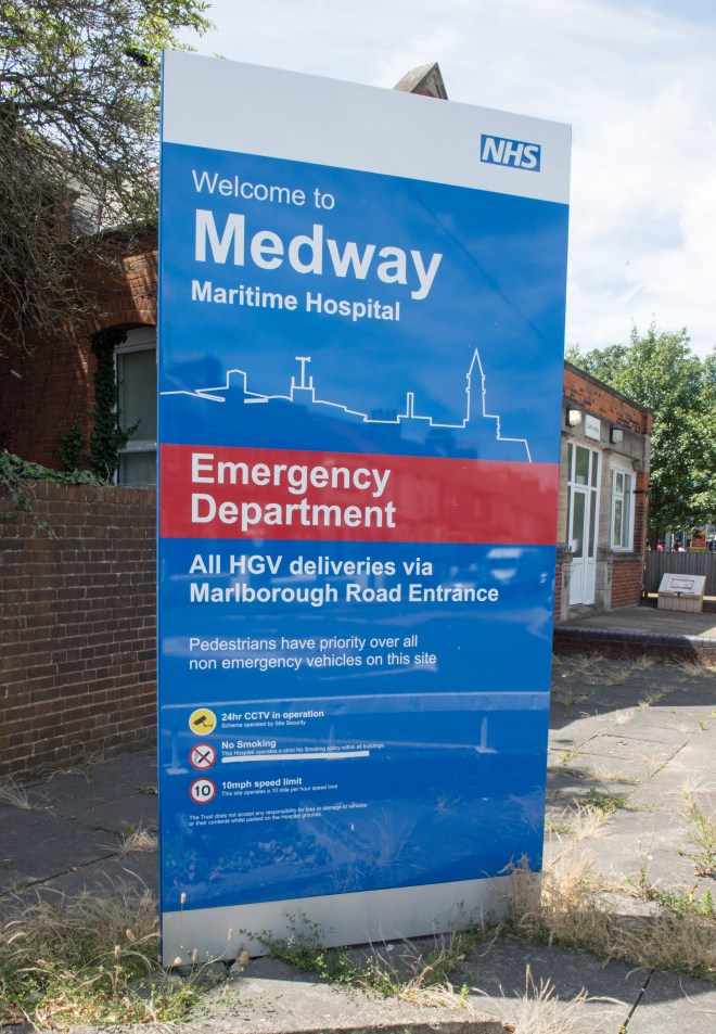 The hospital trust said it has recently carried out a review of parking