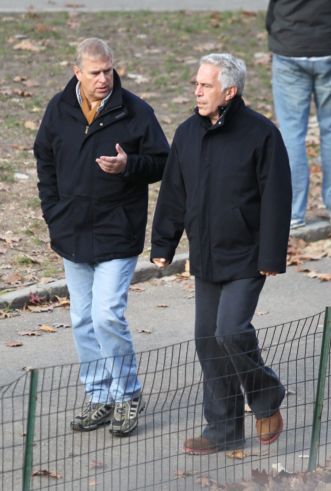 Prince Andrew, pictured with Jeffrey Epstein in New York in 2010