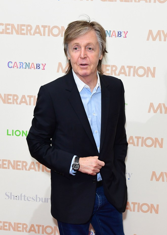Paul McCartney paid a touching tribute to his old pal