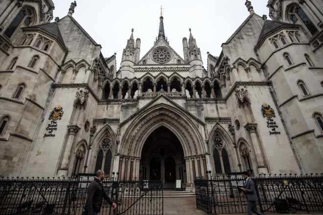 The married tycoon — a household name — was granted a High Court injunction on Friday