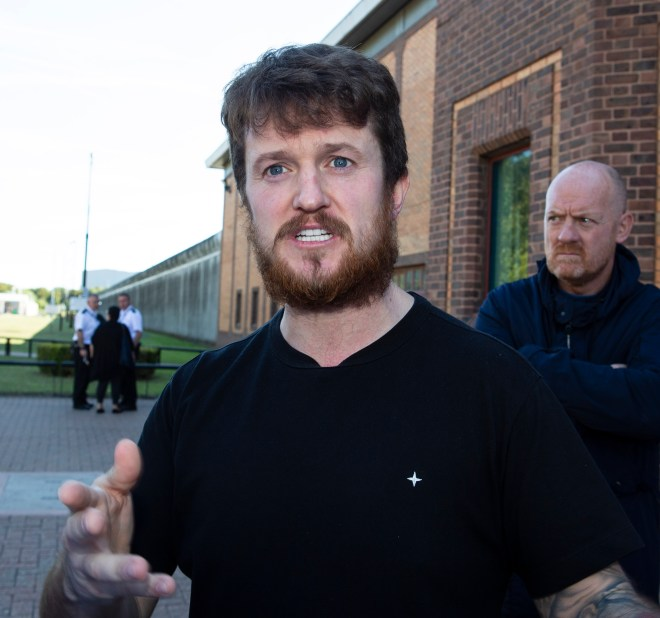 Tommy Robinson faces a hearing at Luton Magistrates Court that could see him get banned from all England games abroad and all UK football grounds
