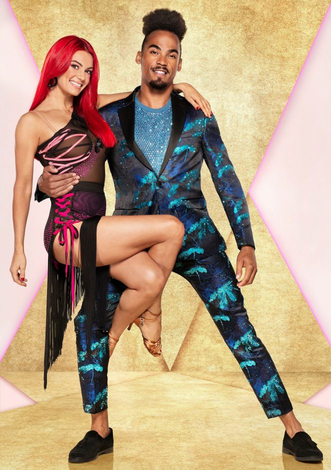 Strictly pro Dianne Buswell was dropped onto her head by partner Dev Griffin during rehearsals for the show