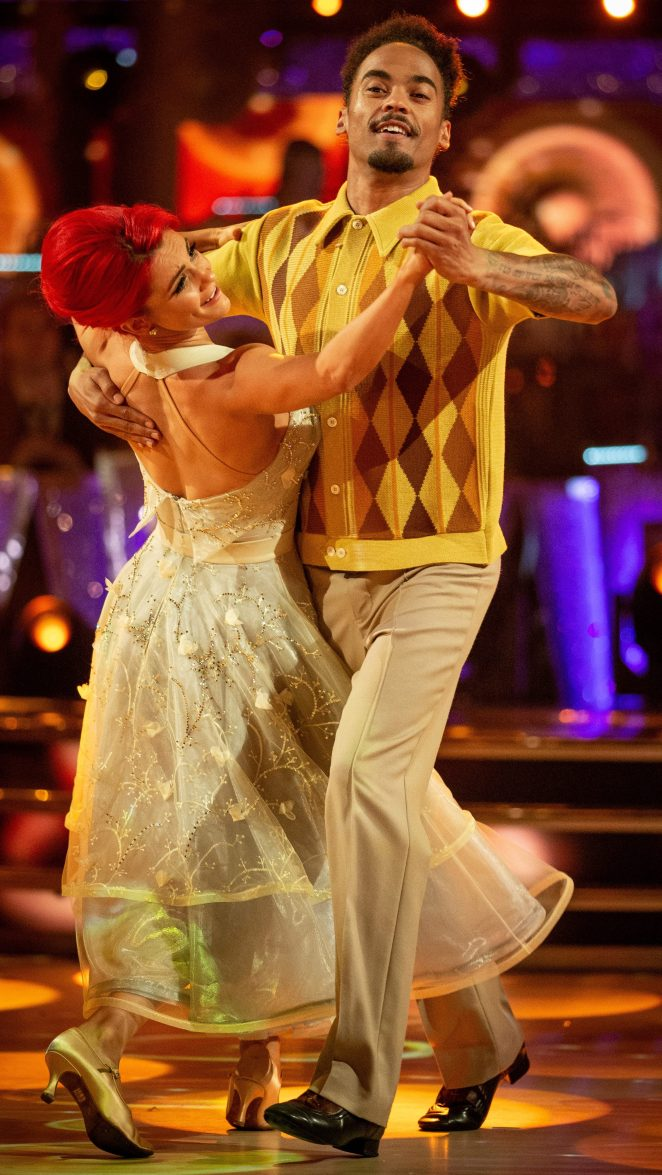 It is not known whether Dianne will be fit enough to dance with Dev on tomorrow night's show