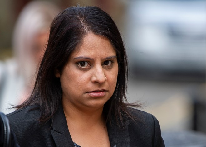 Ravinder Deol, 35, shook her daughter so violently that she died, the court heard