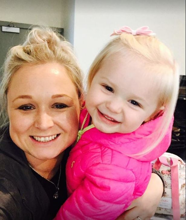 Kate Jaworski-Green, pictured with little Lydia, suffered several 'appalling injuries' in the crash