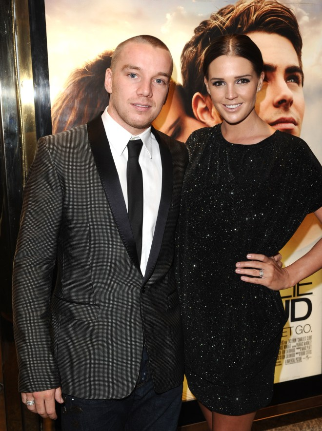 Danielle Lloyd was previously with Jamie O'Hara before they split in 2014