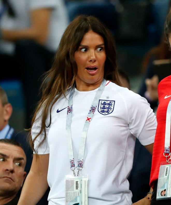 Rebekah Vardy hit back at Danielle Lloyd's claims they had run ins previously