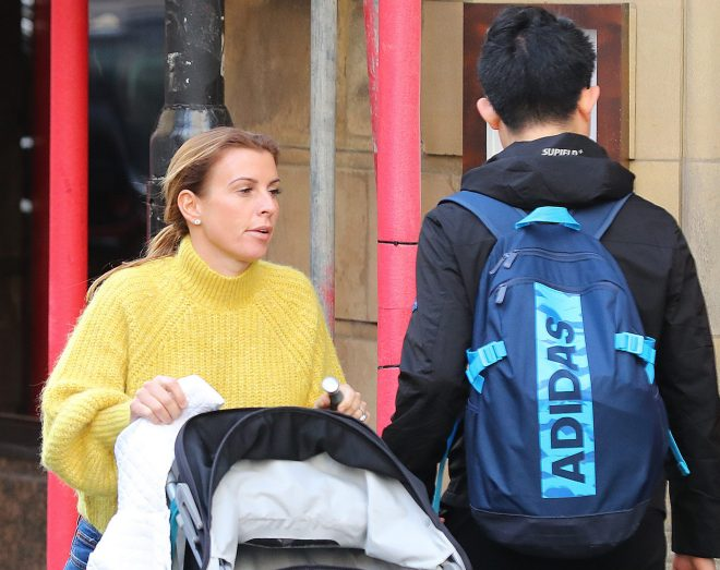 Coleen Rooney is seen today after releasing the explosive Twitter rant
