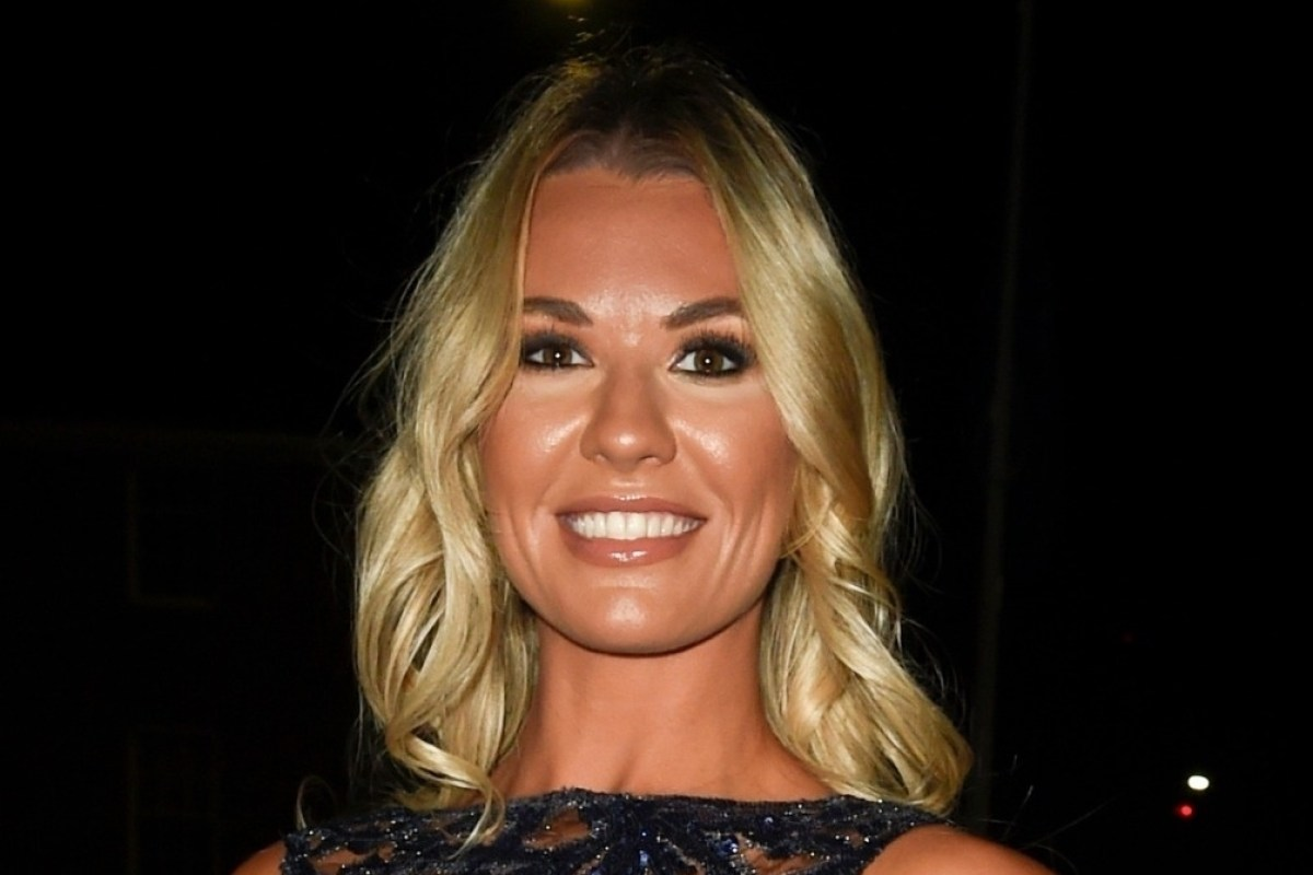 Christine McGuinness looks incredible in see-through dress at fashion event in Manchester