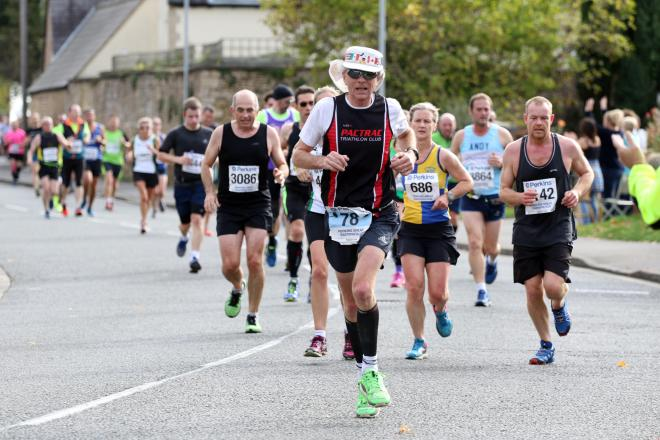 Thousands were taking part in the Perkins Great Eastern Run