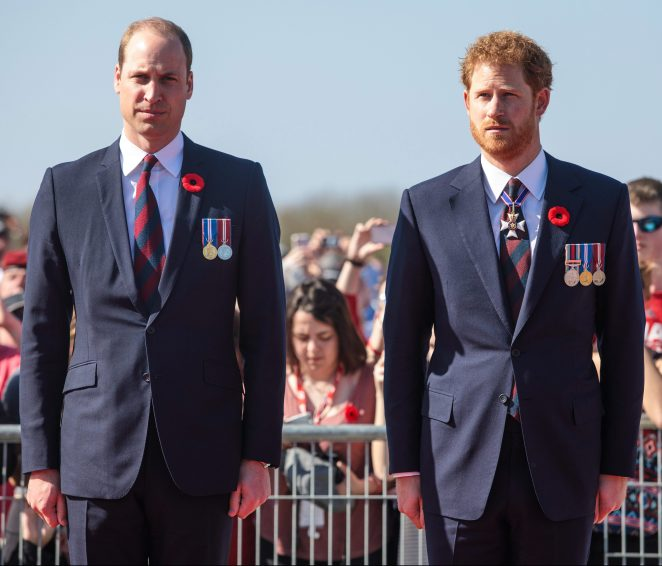 Royal aides have always tried to downplay any rivalry between the brothers