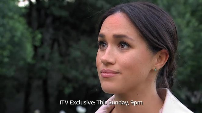 Meghan Markle held back tears as she revealed her 'struggle' as a 'vulnerable' pregnant woman in an ITV documentary