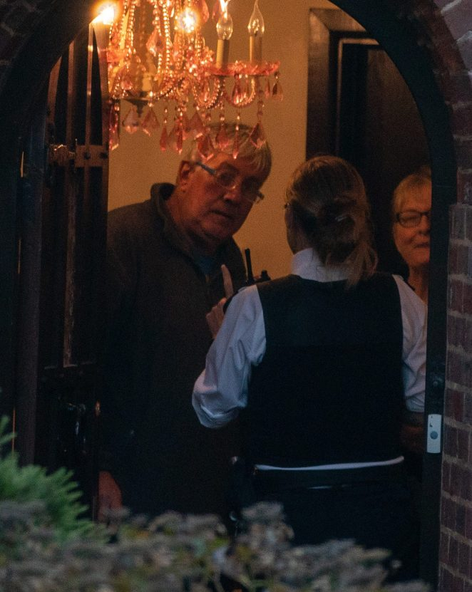An officer spoke with Arg's parents on the second police visit of the afternoon