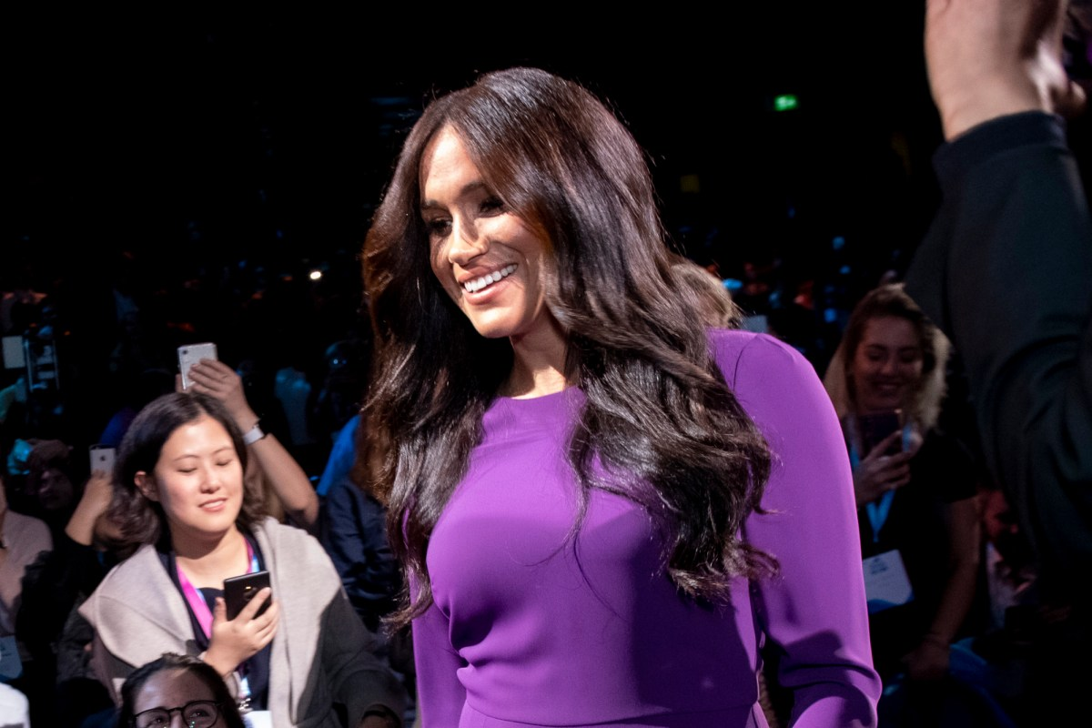Meghan Markle LIVE: Latest news from that purple dress to the Prince Harry ITV interview reaction