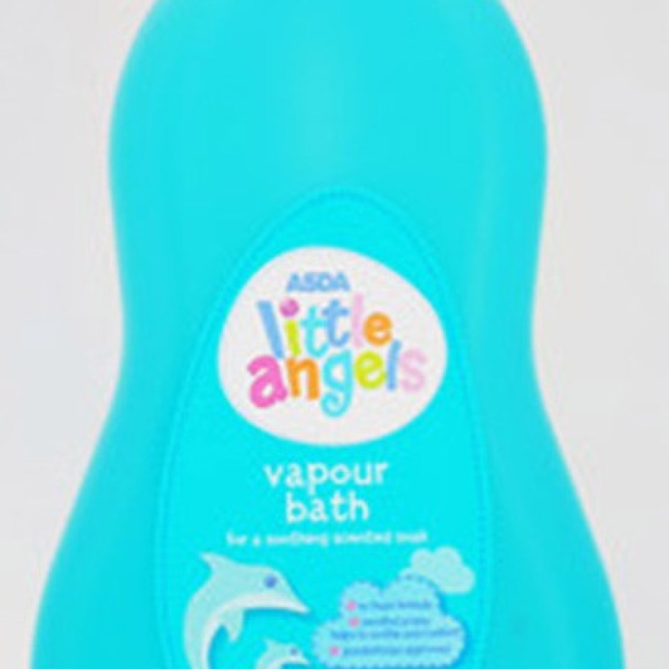 Mums are raving about ASDA's 87p vapour bubble bath which helps kids get over colds