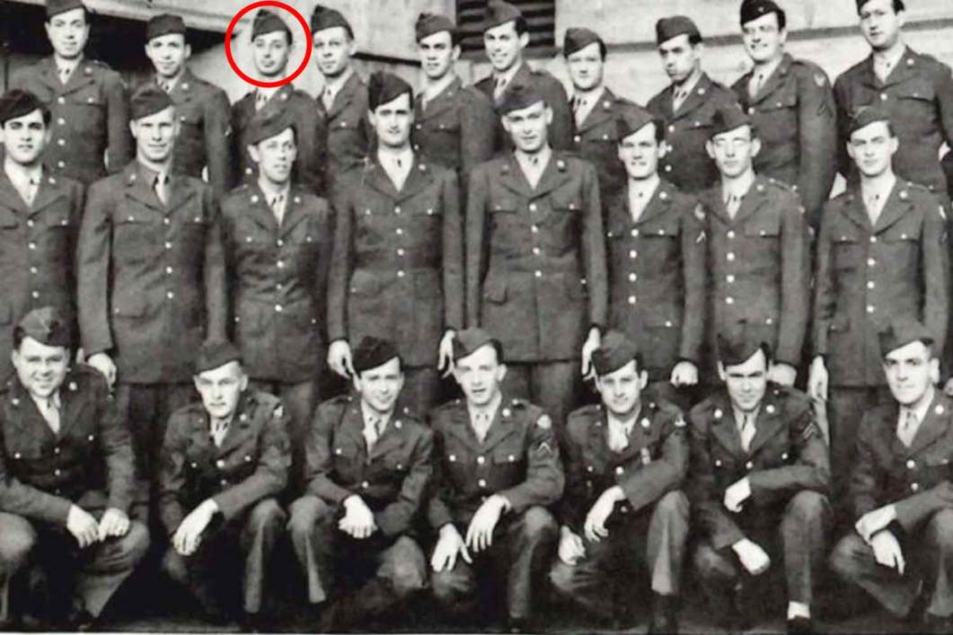 The spy in question can be seen here third from the left on the top row