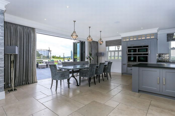 Their is a spacious kitchen diner area ideal for entertaining