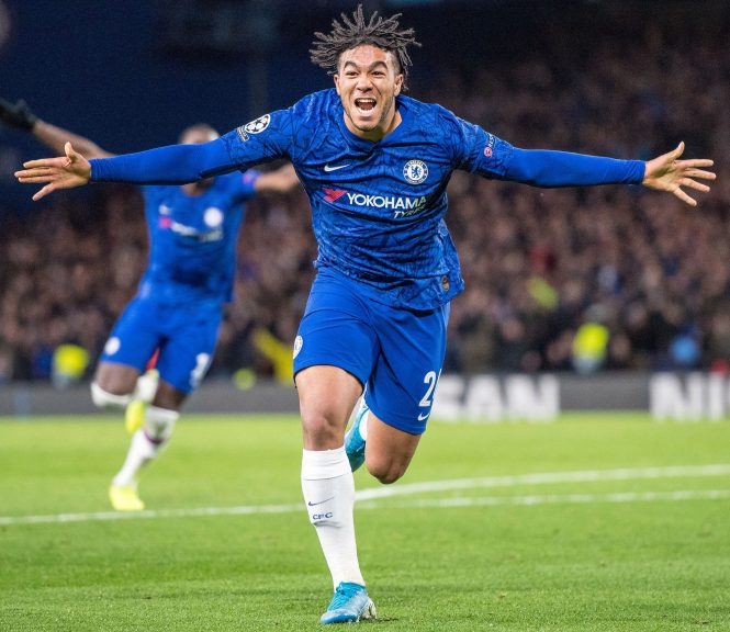 Reece James became Chelsea's youngest ever Champions League goalscorer against Ajax
