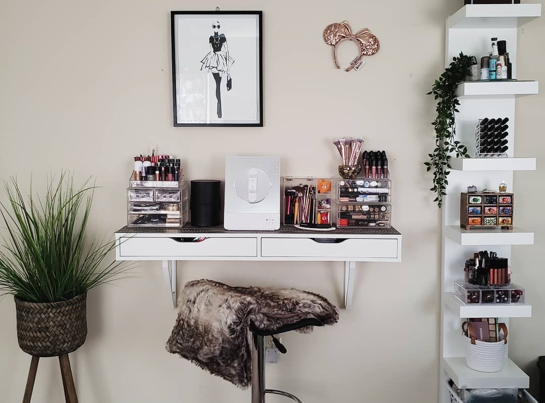 ikea into the dream dressing table