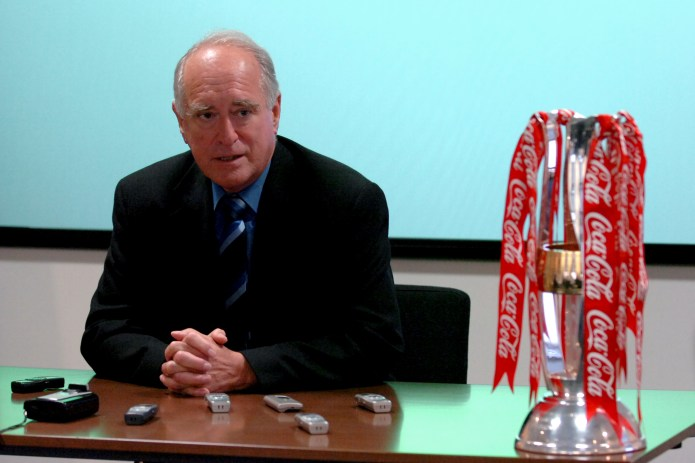 He was chairman of the Football League for seven years