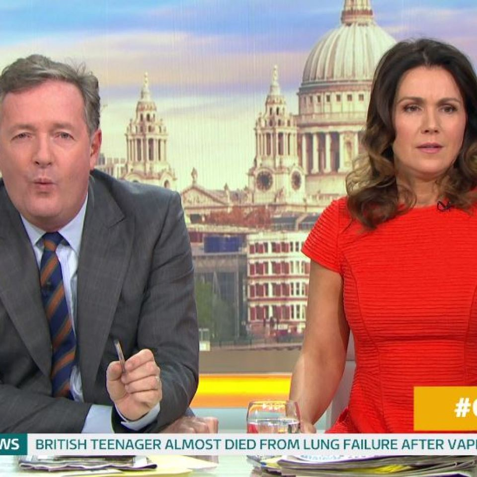 Piers Morgan accuses Meghan Markle of 'playing victim card' for attention – leaving Susanna Reid furious