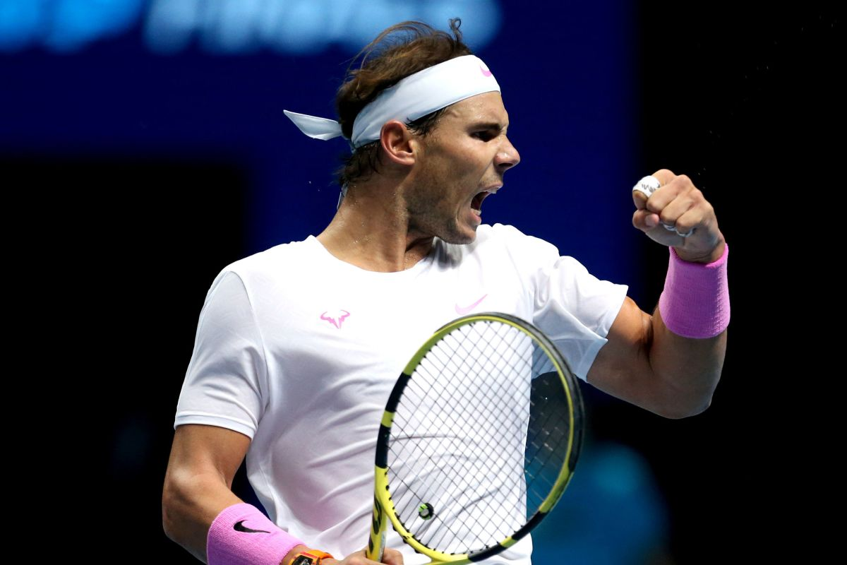 Rafael Nadal produces stunning comeback from match point down in decider to  beat Daniil Medvedev in ATP Finals thriller