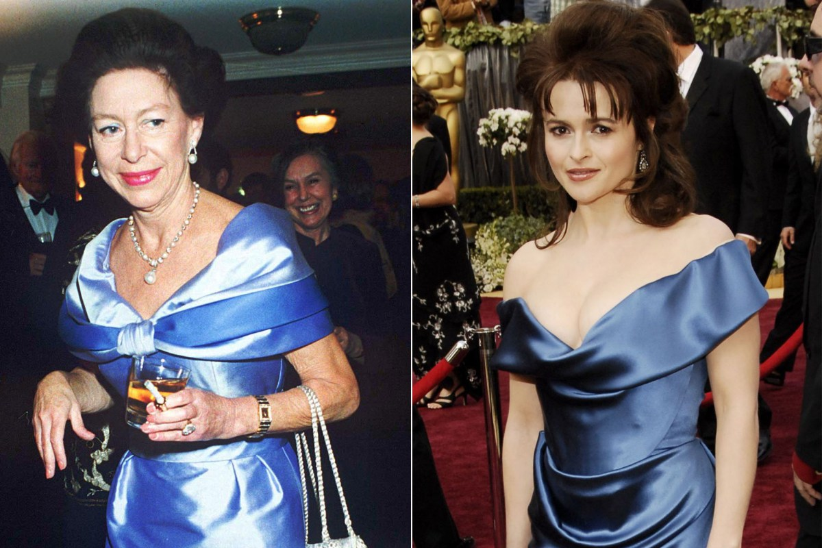 How The Crown's Helena Bonham Carter shares Princess Margaret's style inspiration in real life