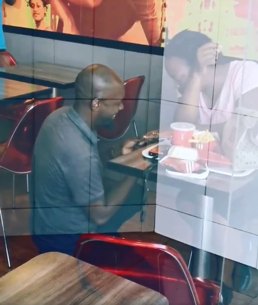 A South African man was shamed for popping the question in KFC
