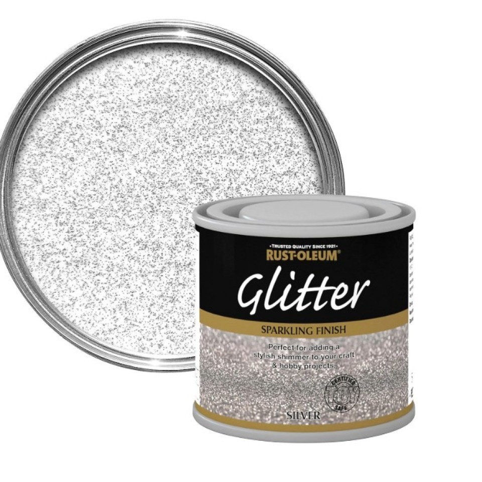 Mums Are Obsessed With This 5 Glitter Paint From B Q And It