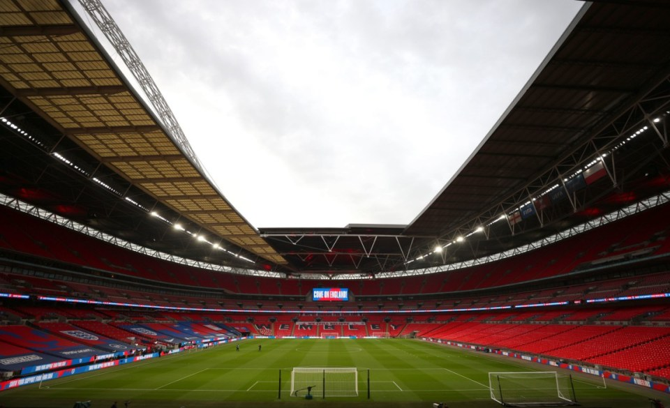 Wembley is set to host the Euro 2020 final