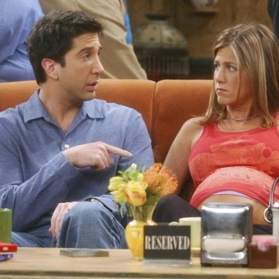 Rachel confirmed her due date was the week before Joey's WWII premiered on 27 May 2002 - making her pregnant for over a YEAR