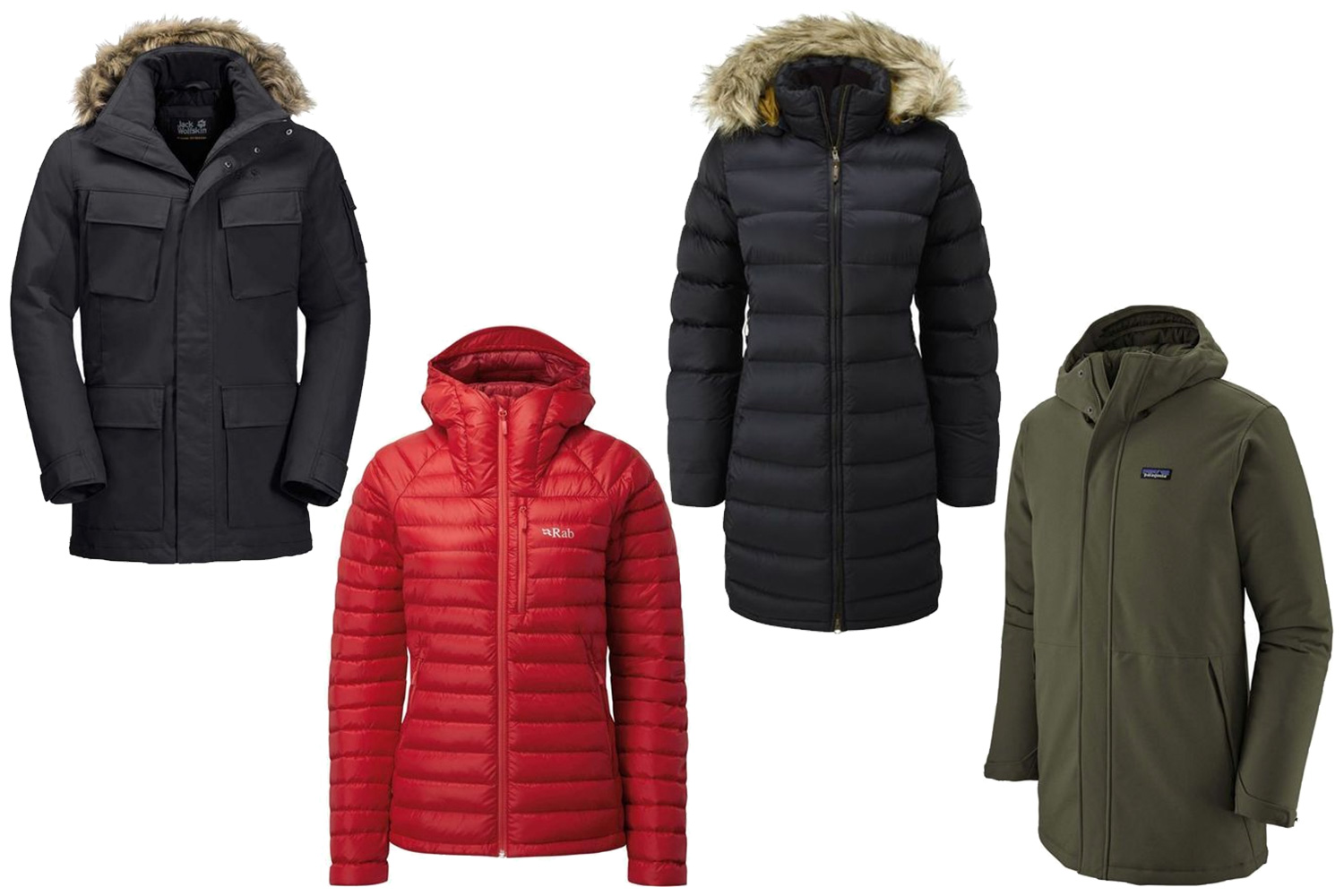 Brand jackets featured in last year's sale