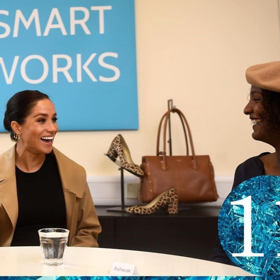 Meghan Markle beams with joy in unseen photo of 'incredibly special moment' shared by Smart Works charity