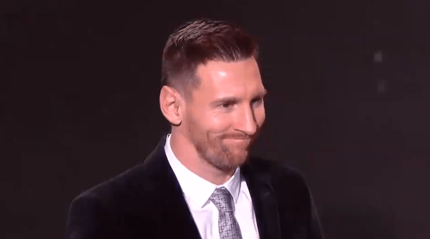 Lionel Messi Wins Record Sixth Ballon D Or As Barcelona