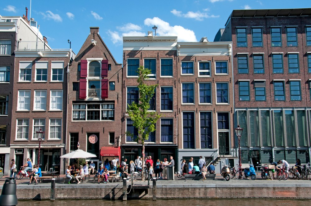 The Anne Frank museum made the top ten for popularity