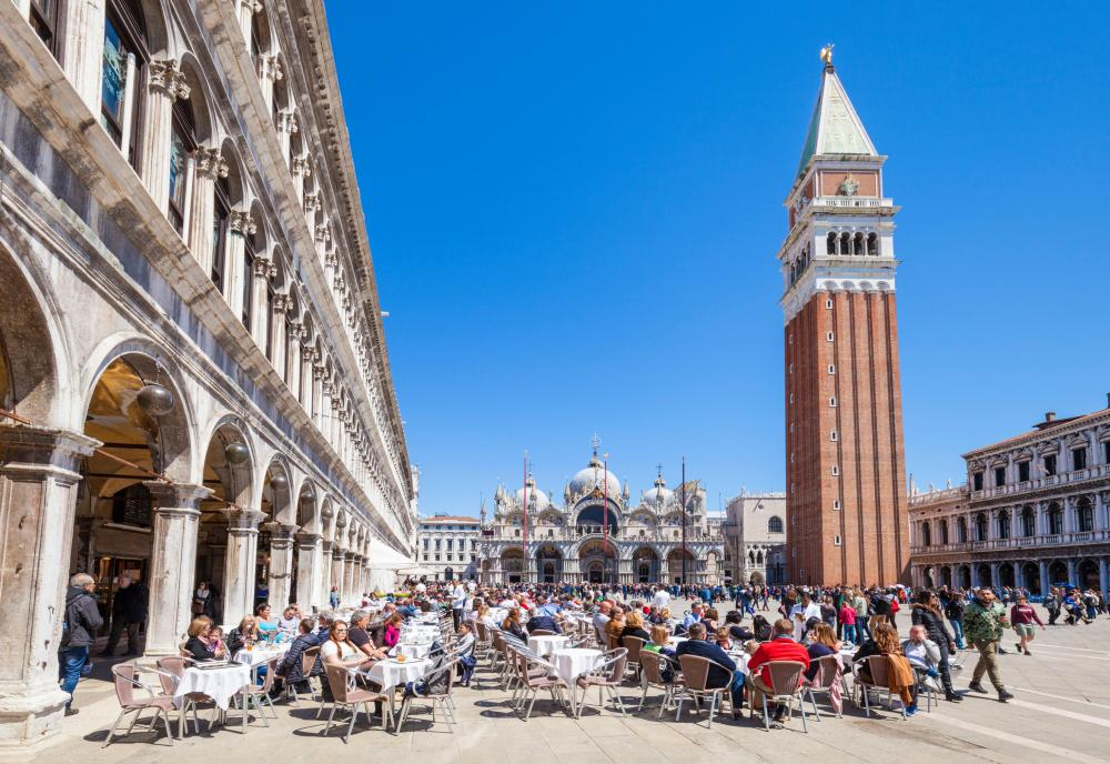 Piazza San Marco just made the top ten, despite being closed last month after it flooded