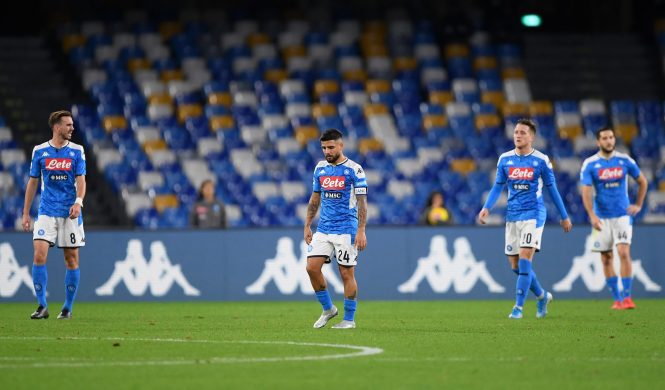 Things are not going to plan for Napoli this season with the club struggling in Serie A and a player mutiny