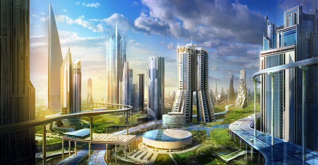 Neom will be an enormous city on the Red Sea