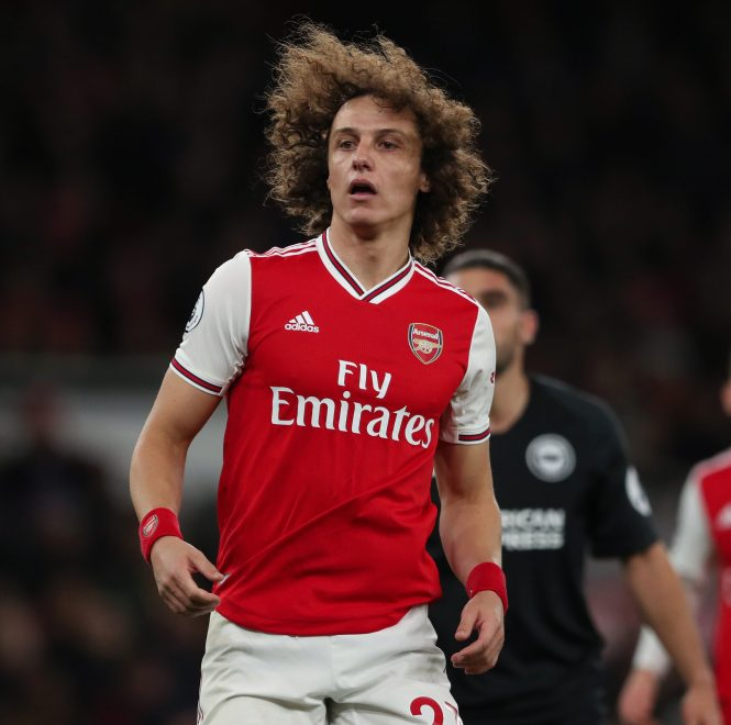 David Luiz was poor in defence once again and lazily drifted offside before his goal that was ruled out