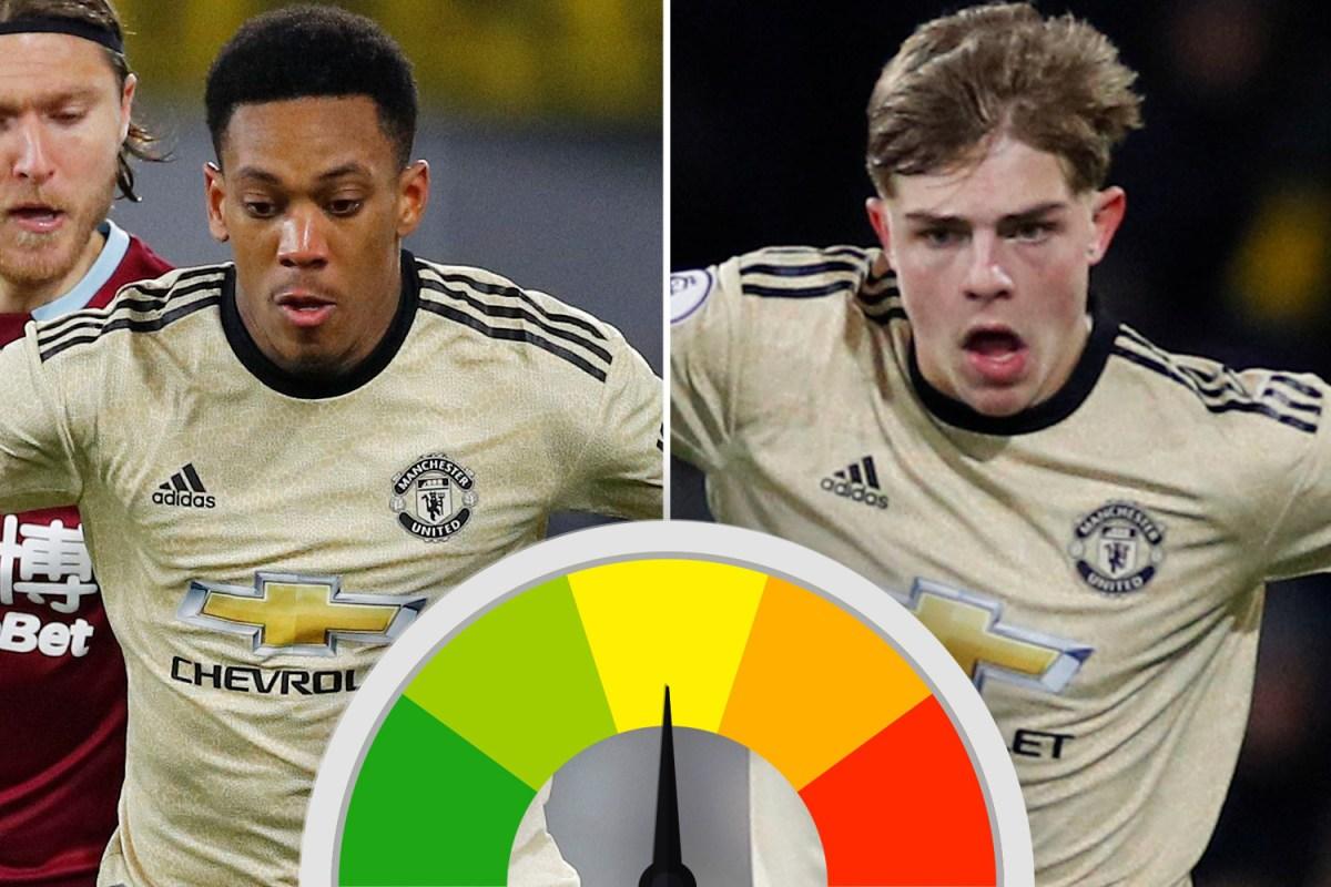 Man Utd Ratings Brandon Williams Impresses Again And