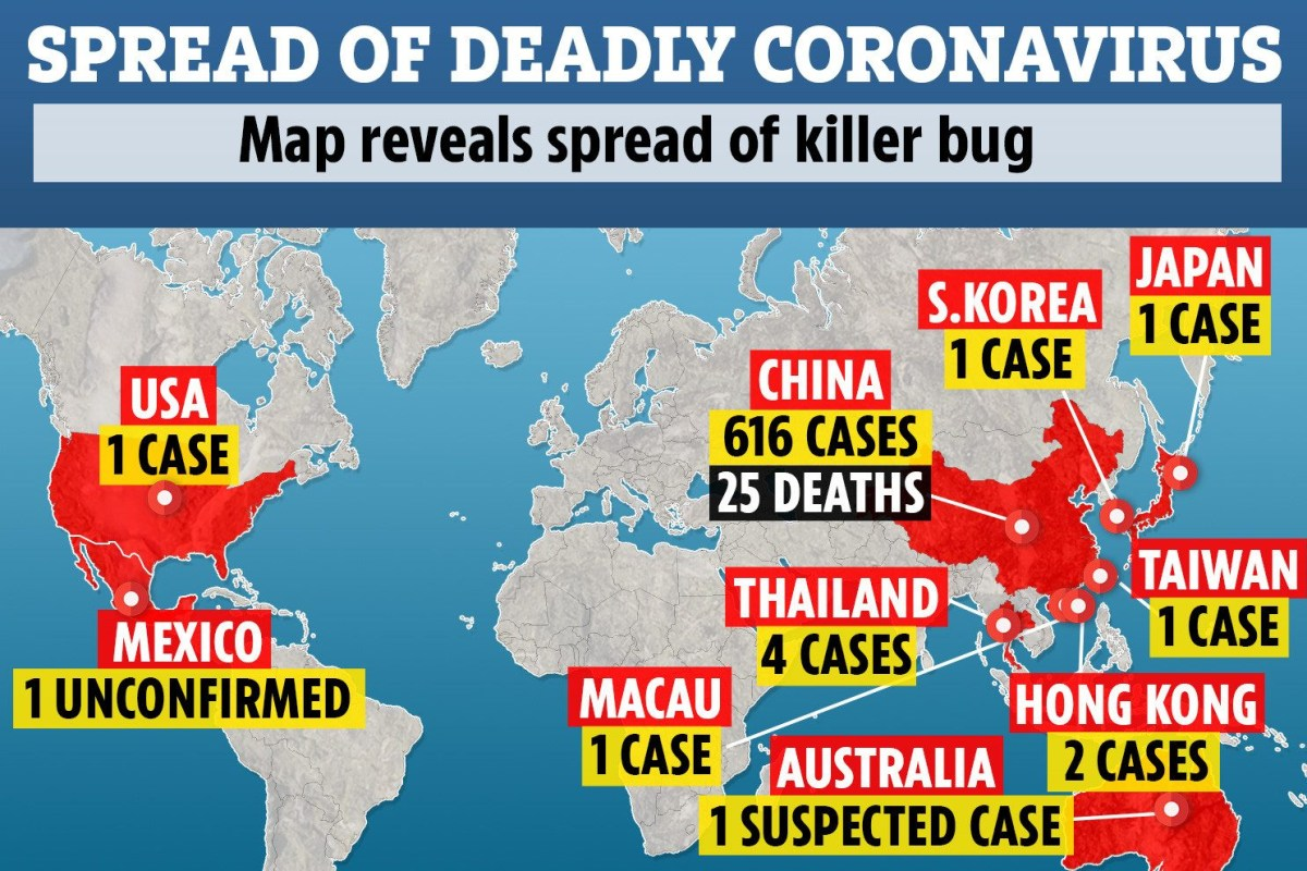 Deadly coronavirus could have ALREADY spread to UK after killing ...