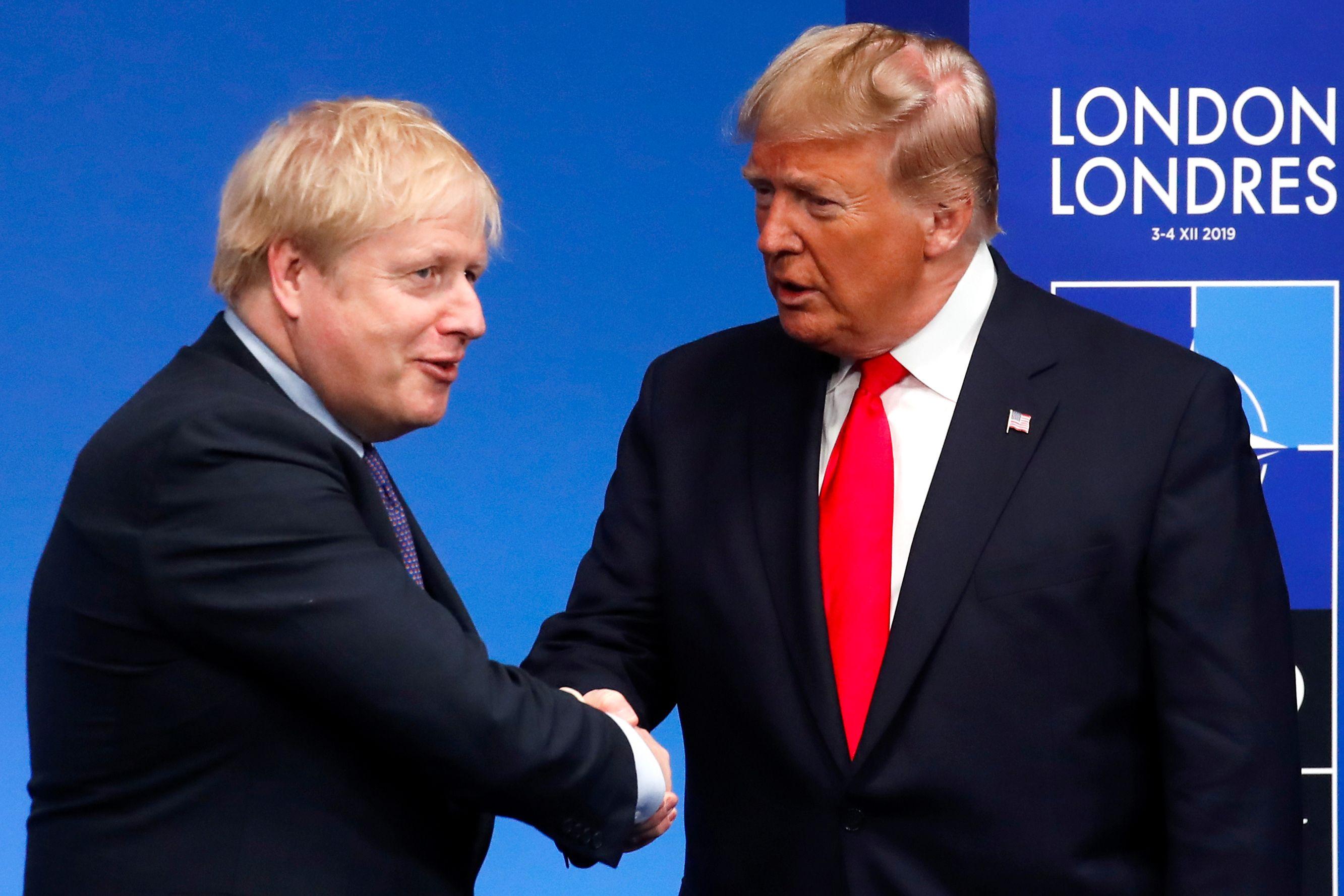 Donald Trump gave Boris Johnson no warning about the US drone strike on Iranian general Qasem Soleimani