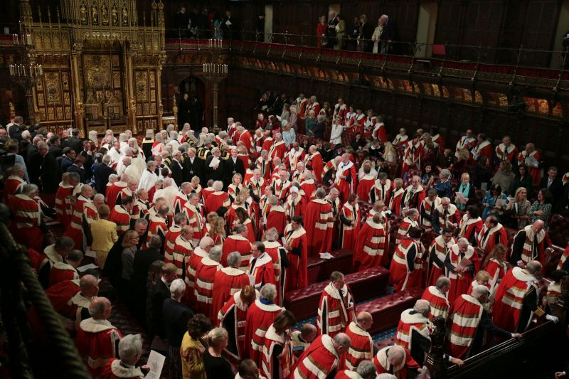 The House of Lords today is as stinky a scandal as it was before Tony Blair kicked out most of the hereditary peers