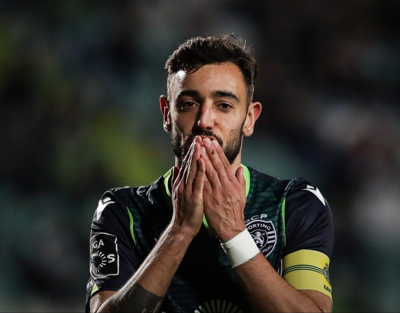 Man Utd want Bruno Fernandes but Sporting are playing hardball