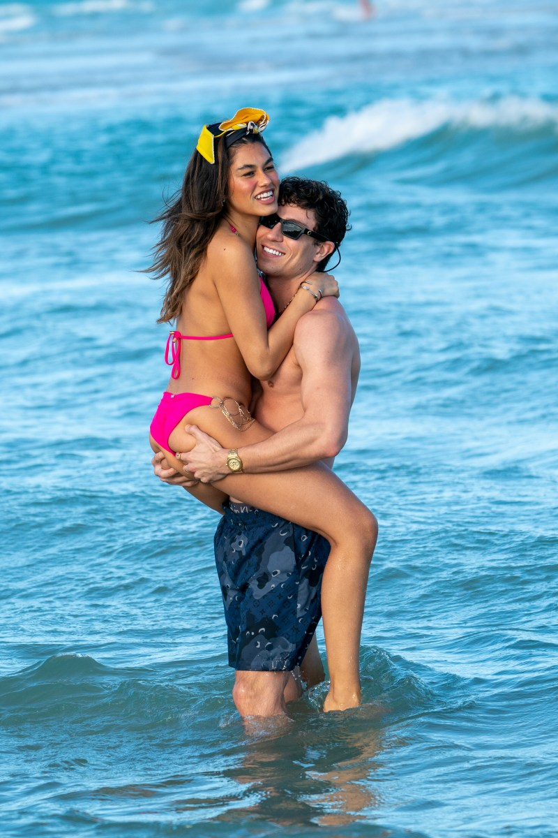 The couple were spotted enjoying some sun in Miami this week