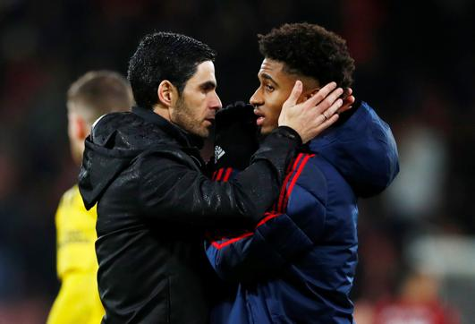New Arsenal chief Mikel Arteta says he is ready to use more of the stick approach if it helps Reiss Nelson fulfil his huge potential